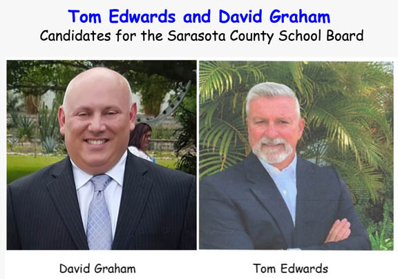 Meet School Board Candidates Tom Edwards & David Graham